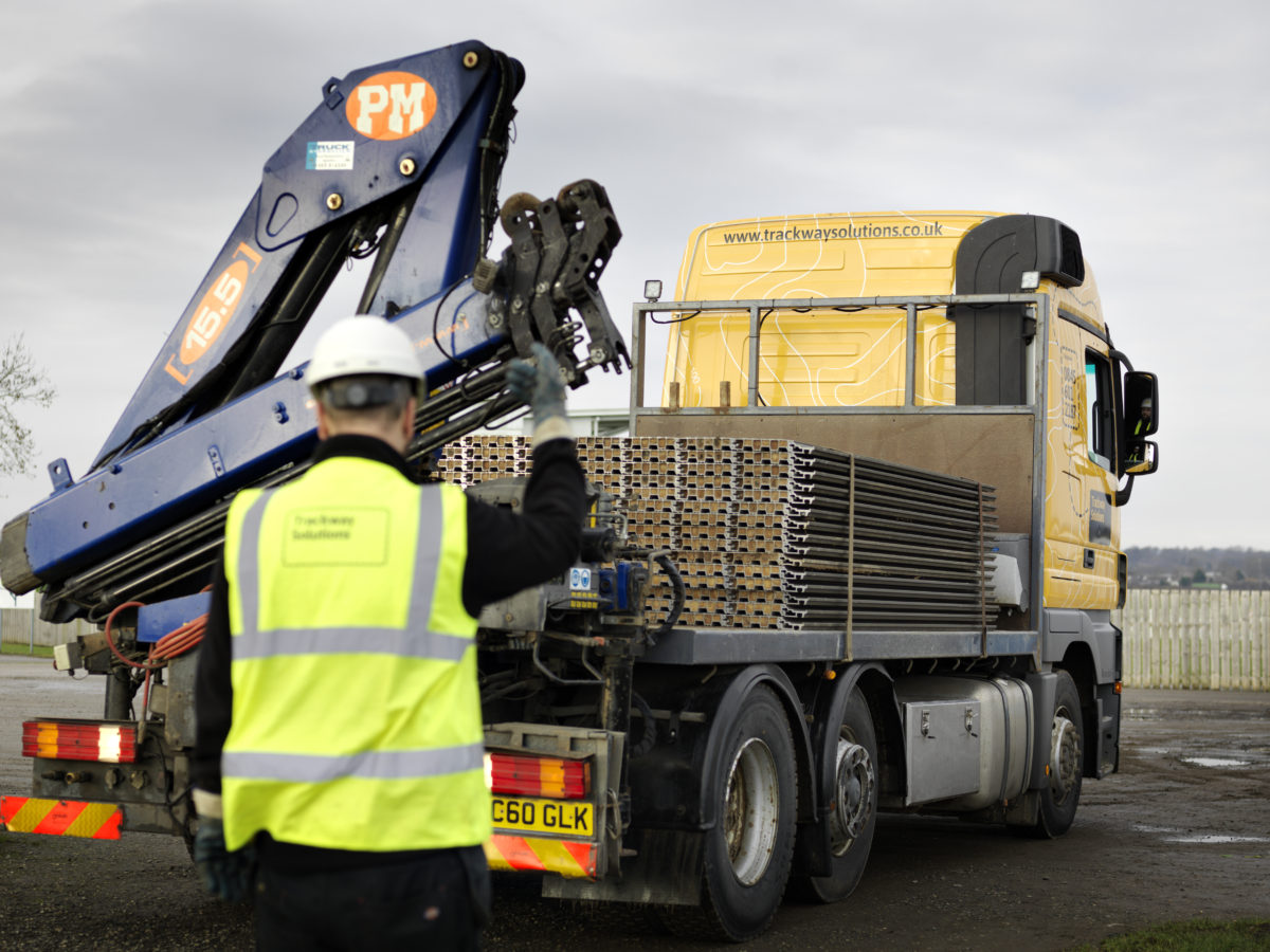 Fleet of vehicles | Trackway Solutions