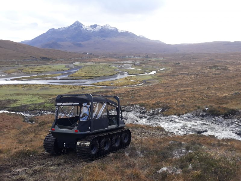 Trackway Solutions Argocat Avenger in Isle of Skye
