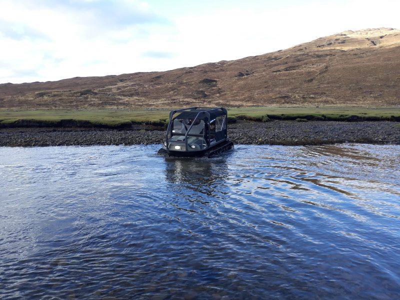 Trackway Solutions Argocat Avenger on Isle of Skye